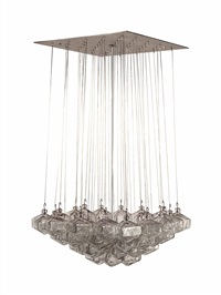 chandelier by gio ponti