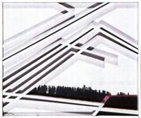 estructura del muro rojo by alberto agulló