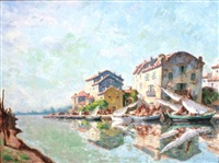 martigues by auguste pegurier