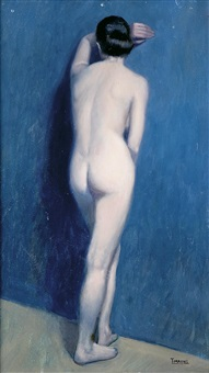 desnudo de espaldas by bernardo torrens