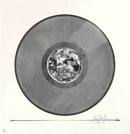 scott fagan record by jasper johns