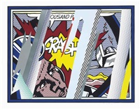 reflections on crash, from reflections by roy lichtenstein
