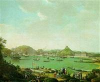 vue du port de ceuta by portuguese school (18)