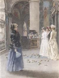 la sposa by angiolo achini