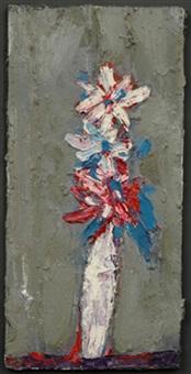 white flower by roger kemp