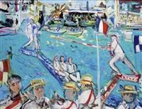 la fête de la saint-louis à sète by maurice empi