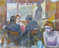 figure al bar by alberto sughi