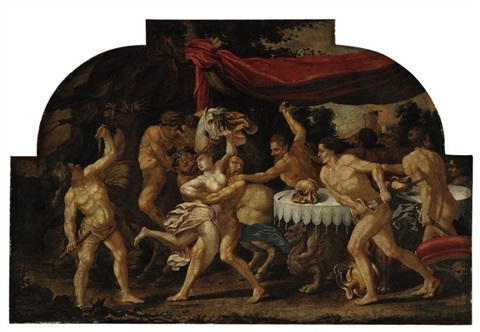 the rape of proserpine by andrea mantegna