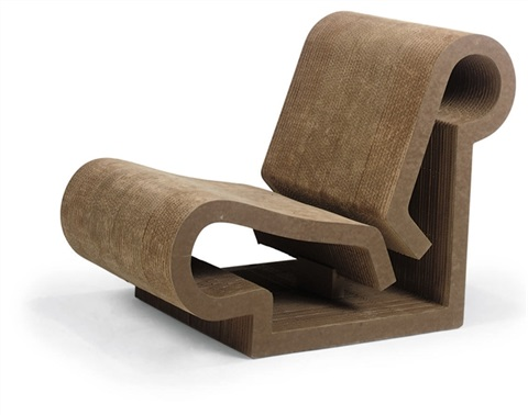 contour chair by frank gehry