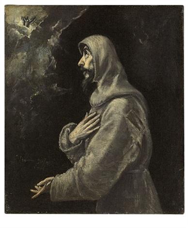 the ecstasy of saint francis by el greco