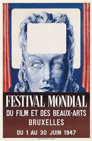 festival mondial by rené magritte
