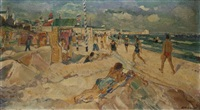 am badestrand by richard otto voigt
