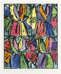 dexter's four robes by jim dine