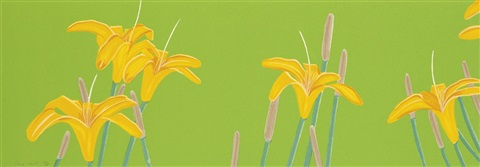 day lillies by alex katz