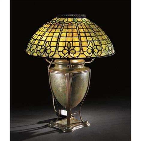 Fleur De Lis Table Lamp By Tiffany Studios On Artnet