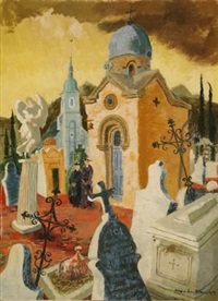 french cemetery by phay hutton