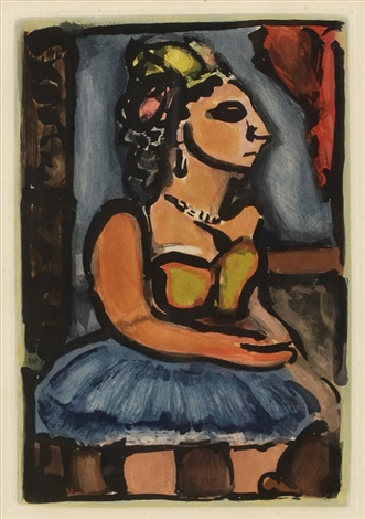 pl7 from cirque by georges rouault
