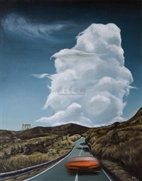road · clouds by zhang wei