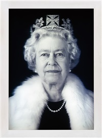 queen elizabeth ii (equanimity) by chris levine