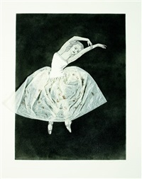 ballerina (stretching right) by kiki smith
