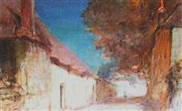 street scene by alfred john billinghurst