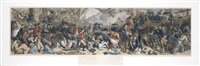 the death of nelson at the battle of trafalgar (engraved by w. sharpe) by daniel maclise