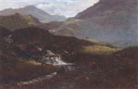 a highland stream by james smith morland