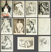 karel kappstein: umělecká litografie (bk w/10 works) by rudolph kremlicka