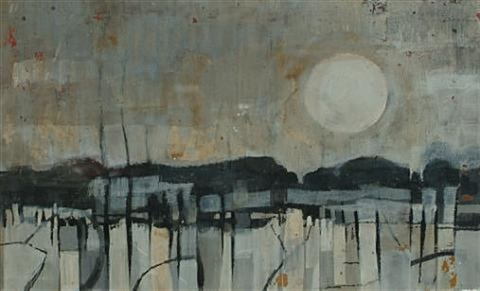 landscape no 1 by kenneth burrows