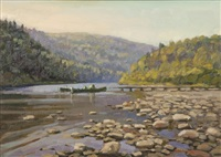 home pool at cold spring camp by gordon allen
