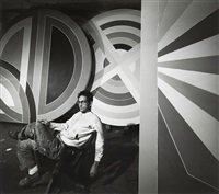 frank stella by arnold newman