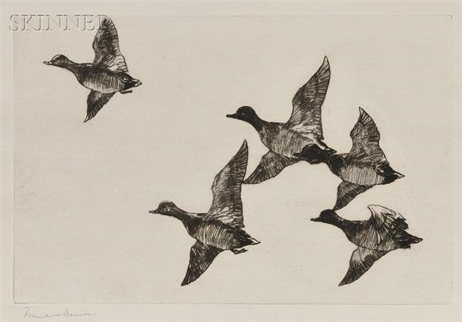 flying widgeon by frank weston benson