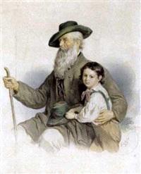ein junger und ein alter steirer by anton haala