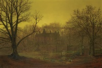 a yorkshire home by john atkinson grimshaw