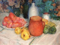 nature morte by edmond françois aman-jean