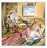 la vie sur écran by jacques de loustal
