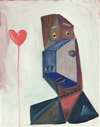 the lover by george condo