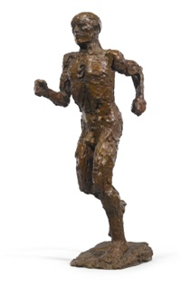 running man by elisabeth frink