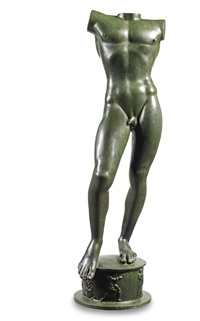 the sun singer (torso) by carl (wilhelm emile) milles