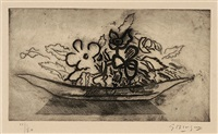 corbeille de fleurs by georges braque