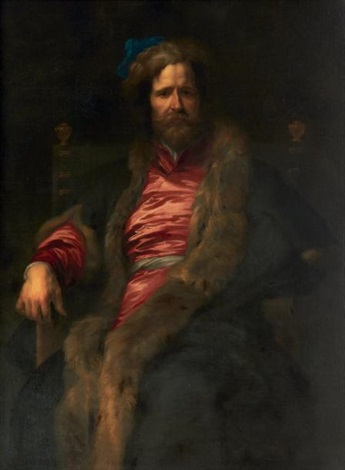 portrait du peintre david ryckaert by sir anthony van dyck
