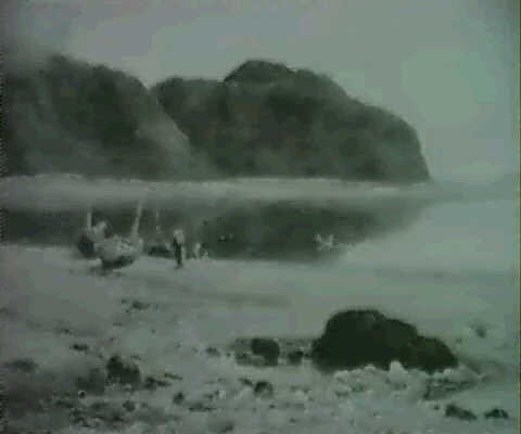 doubtful weather, penmaenmaur, north wales by albert william ayling
