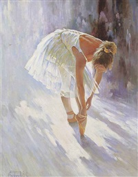the young ballerina by vladimir andreev
