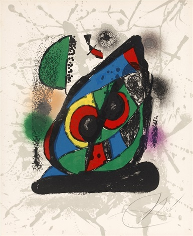 pl2 from miro lithographies iv by joan miró
