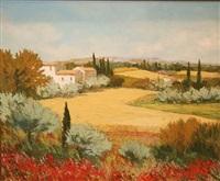 landscape near gras by jean pierre mocci