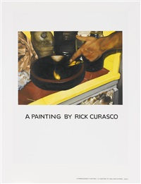 a painting by richard curasco by jonathan monk