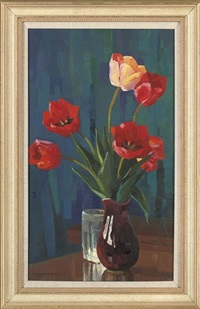 tulips by gervasia vartanyan
