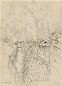 l'église st-nicolas by jules de bruycker