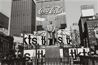 new york city, father duffy by lee friedlander
