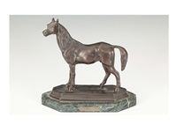 figure of horse by barye
